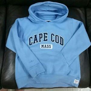 Light blue hoodie sweatshirt Cape Cod